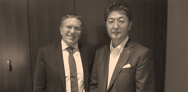 アワーグラス銀座店にてKurt Kupper氏(Reuge SA Chief Executive Officer)と